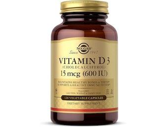 Solgar 600 IU Vitamin D3 (120 Count)