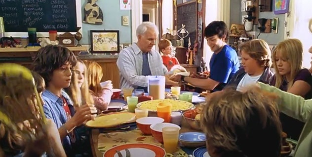 Steve Martin stars as a dad of 12 in 'Cheaper by the Dozen.'