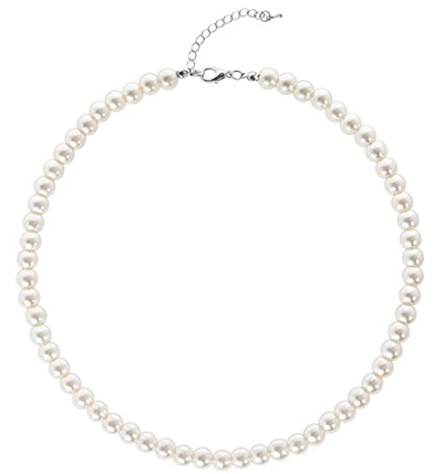 BABEYOND Round Imitation Pearl Necklace