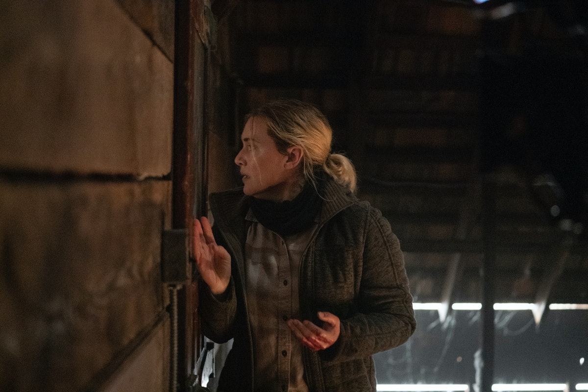 Kate Winslet as Mare in Mare of Easttown