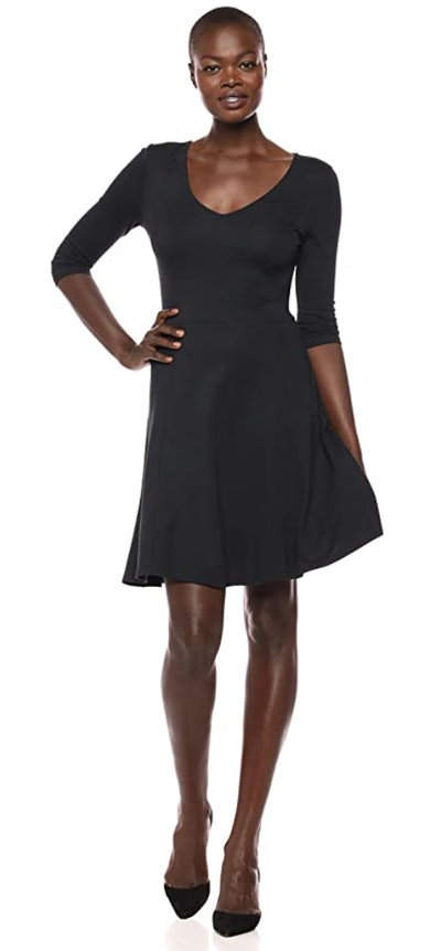 Lark & Ro Women's Fit & Flare Dress