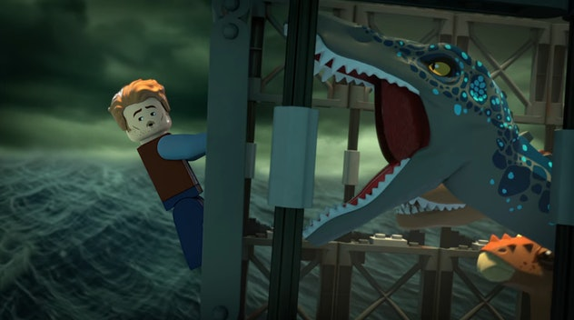 'The Secret Exhibit' is one of several Lego/Jurassic World properties available on Netflix.