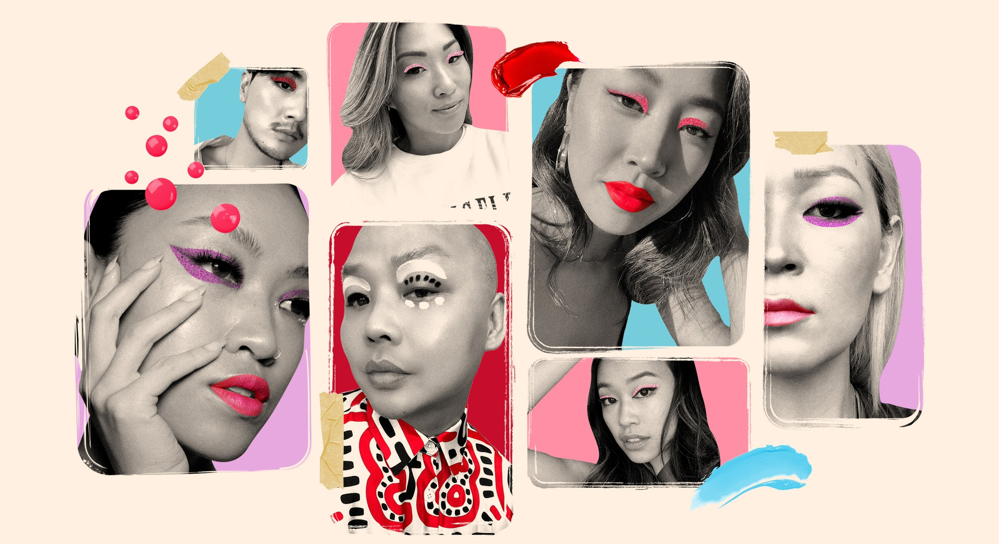 Asian makeup artists and beauty influencers reflect on their monolids and share their favorite eye looks and makeup products.