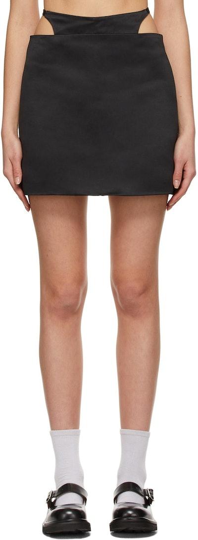 Black Bunny Skirt