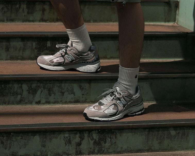 New Balance puts Bape's iconic camo print on a fantastic pair of ...
