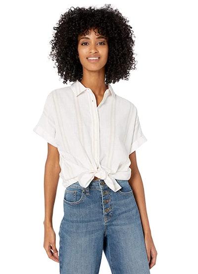 Goodthreads Washed Cotton Short-Sleeve Shirt