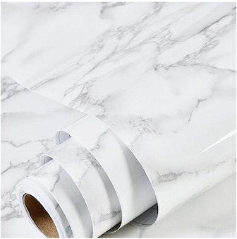 Marble Wallpaper Granite Paper (17.71 inch x 78inch)