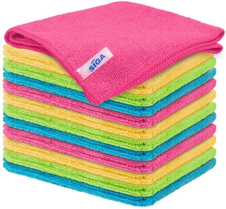 MR. SIGA Microfiber Cleaning Cloth (12-Pack)