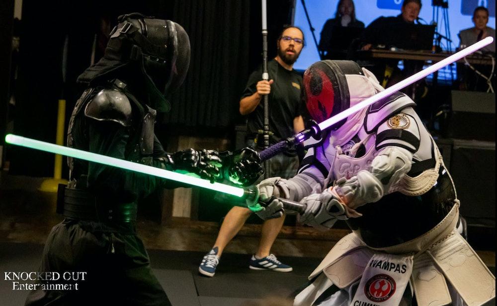 LED saber combat The Saber Legion Championship