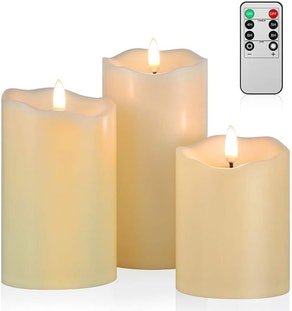 ANGELLOONG Flickering Flameless Candles