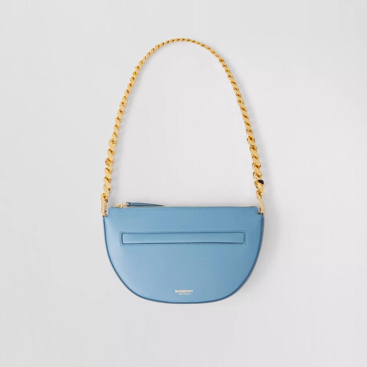 Mini Leather Zip Olympia Bag