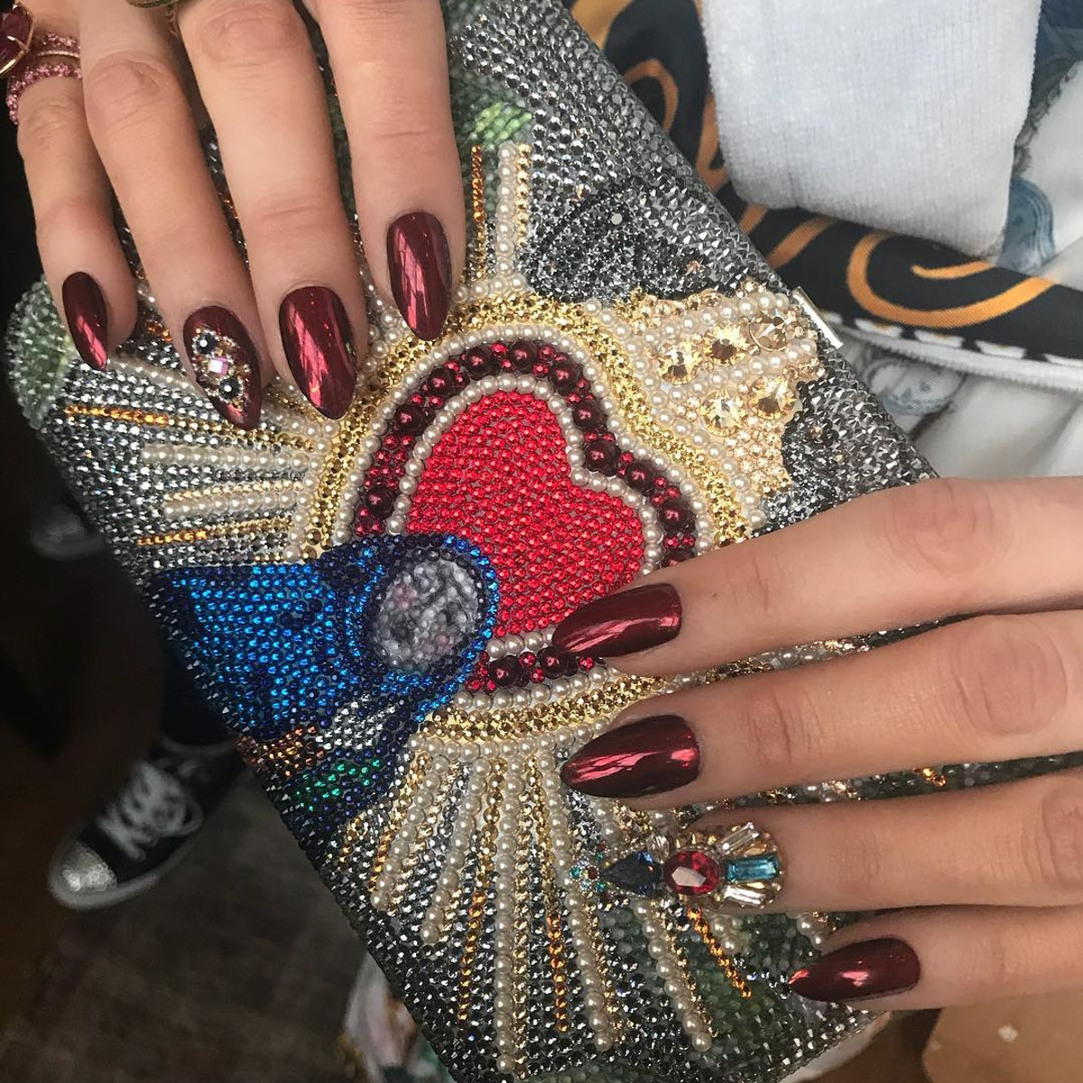 In 2018, Blake Lively turned heads at the Met Gala with her regal gown and stained glass-inspired nails.