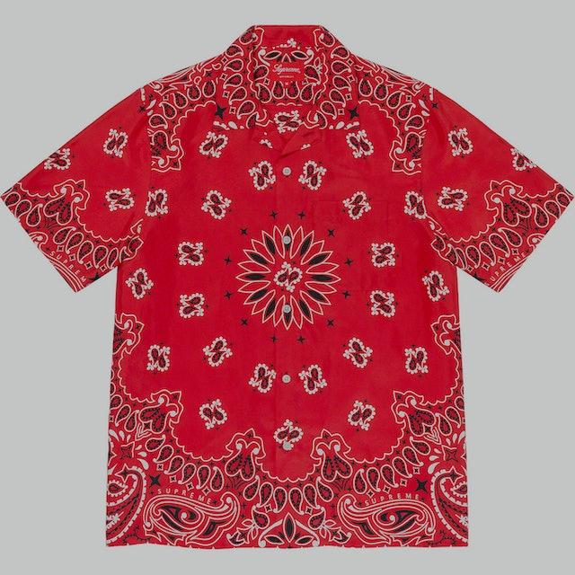 Supreme Bandana Silk Shirt