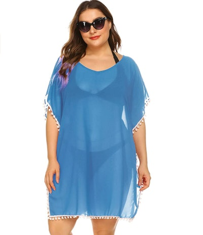 IN'VOLAND Chiffon Swimsuit Cover-Up
