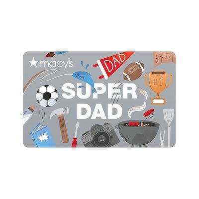 Super Dad Gift Card