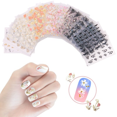 NiceDeco Self-Adhesive Nail Stickers (50-Sheets)