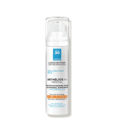 La Roche Posay Anthelios 100% Mineral Sunscreen Moisturizer with Hyaluronic Acid