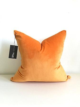 The Sunset Velvet Pillow