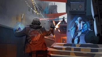 deathloop concept art featuring colt in action