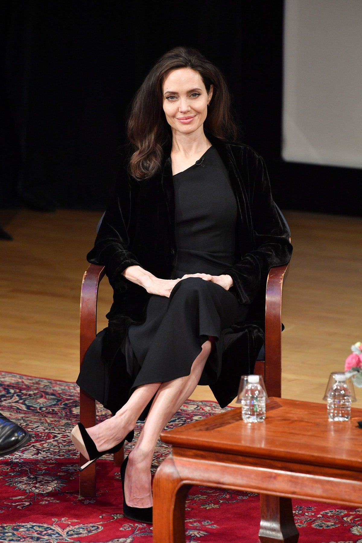 """Angelina Jolie attends the """"Light After Darkness: Memory, Resilience and Renewal in Cambodia"""" discus..."""