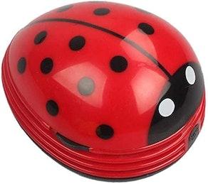Cute Portable Ladybug Desktop Vacuum Cleaner