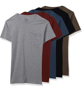 Fruit of the Loom Pocket T-Shirts (6-Pack)