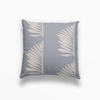 Palmetto Pillow in Denim