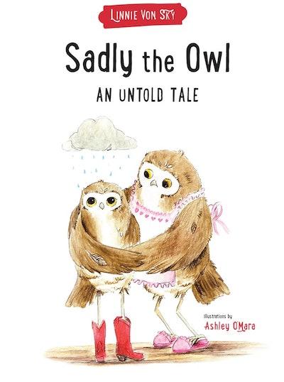 """""""Sadly the Owl"""" by Linnie von Sky"""