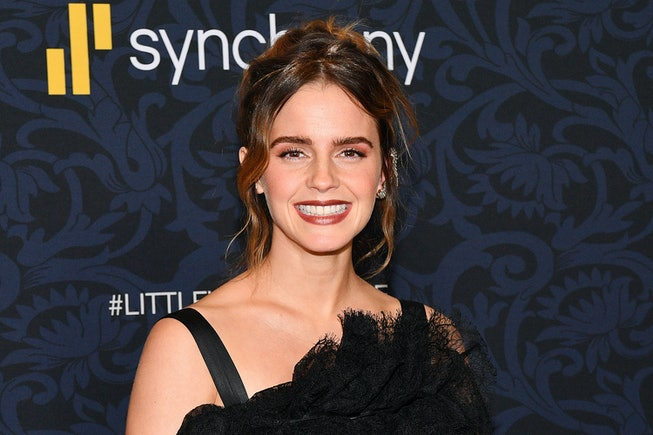 Emma Watson addresses recent rumors that she was retiring from acting.