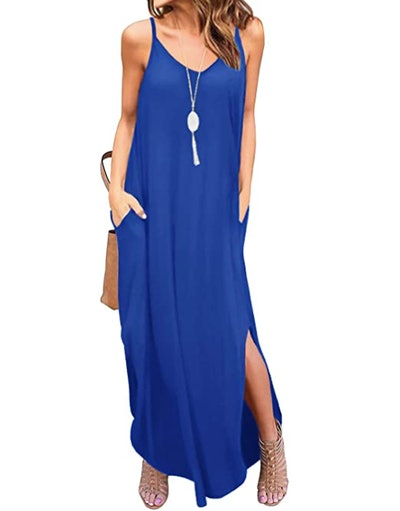 GRECERELLE Loose Cami Maxi Dress