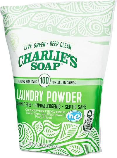 Charlie's Soap Biodegradable Laundry Powder