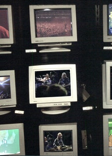 computer screens featuring concers
