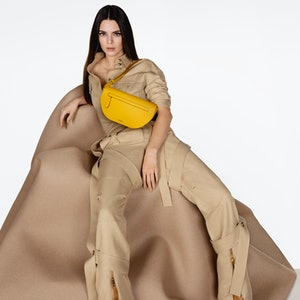 Kendall Jenner in Burberry's Olympia campaign.