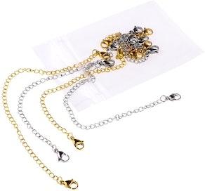 D-buy Necklace and Bracelet Extenders (8 Pieces)