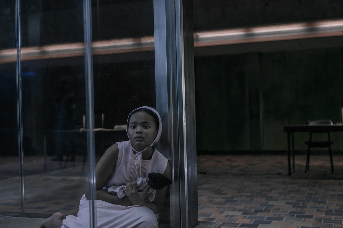 Jordana Blake as Hannah in 'The Handmaid's Tale'