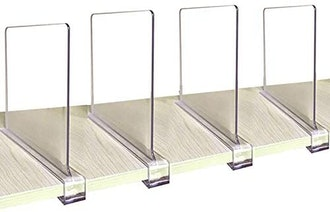 CY Craft Acrylic Shelf Dividers (Pack of 4)