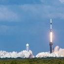SpaceX's Falcon 9 rocket lift off