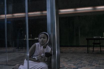 Jordana Brewer as Hannah in The Handmaid's Tale via Hulu