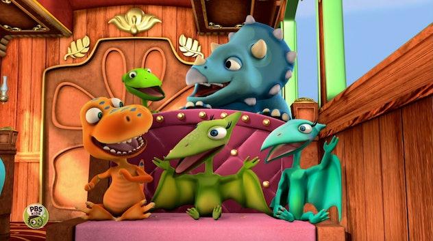 'Dinosaur Train' was developed by the Jim Henson Company