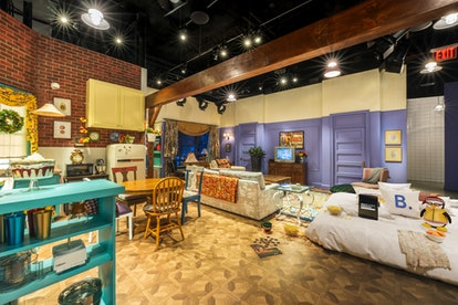 The set of Monica and Rachel's living room is in The 'Friends' Experience you can visit in NYC.