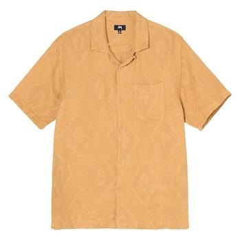 Stüssy Diamond Jacquard Linen Shirt