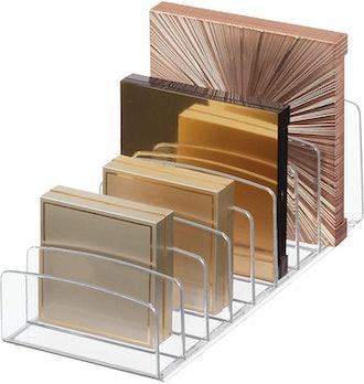 iDesign Clarity Makeup Palette Organizer