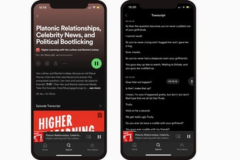 Spotify is making changes to its app aimed at accessibility, including transcribing podcasts.
