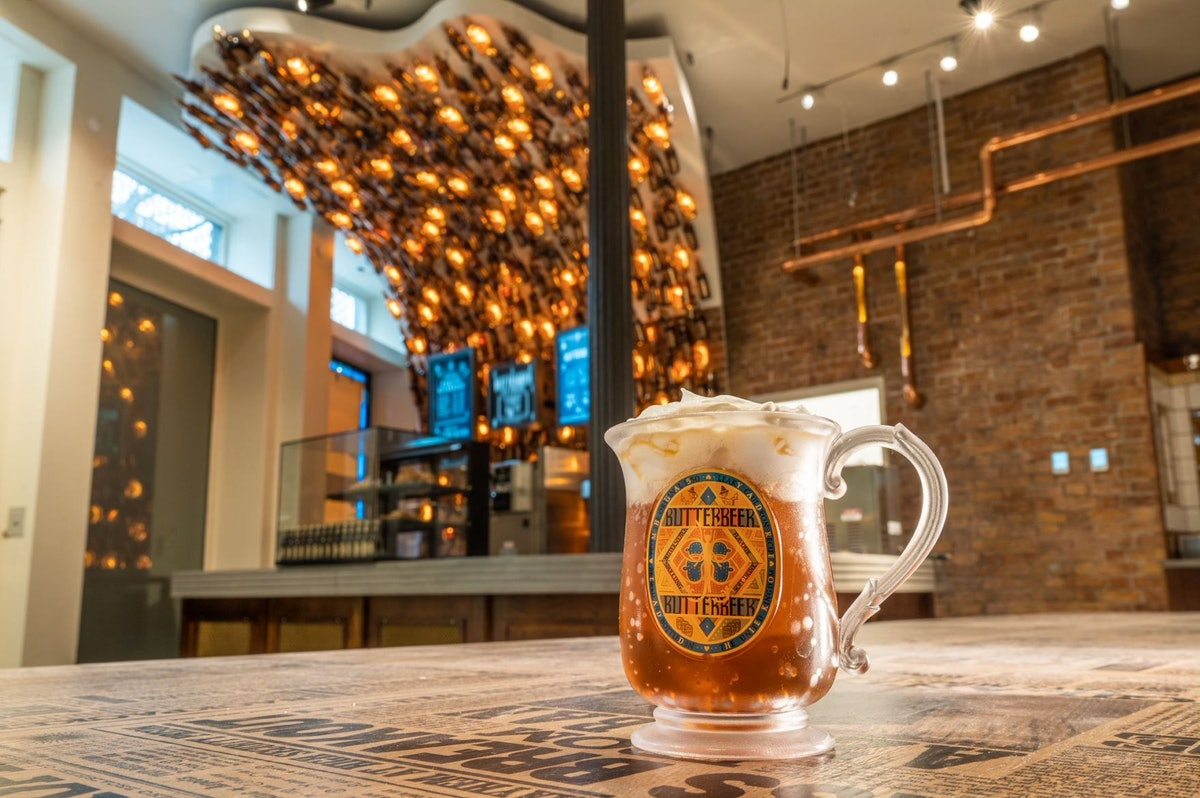 'Harry Potter' New York is opening a Butterbeer Bar, featuring vegan butterbeer for the first time in the U.S.