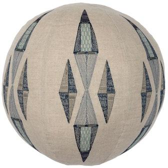 Cardinal Points Sphere Pillow