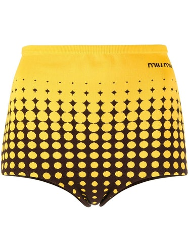 Miu Miu Knitted Mini Shorts