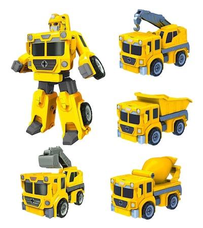 Truck Bots Take Apart Robot Truck Set