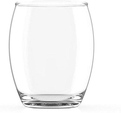 Cruvina Unbreakable Stemless Plastic Wine Glasses (Set of 4)
