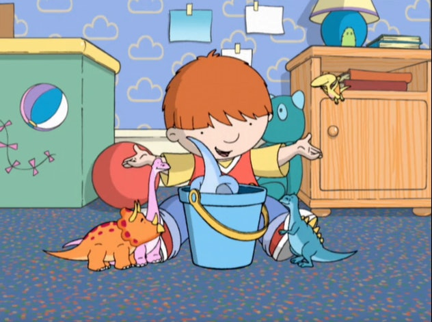 'Harry and His Bucket Full of Dinosaurs' is based on a book series of the same name.