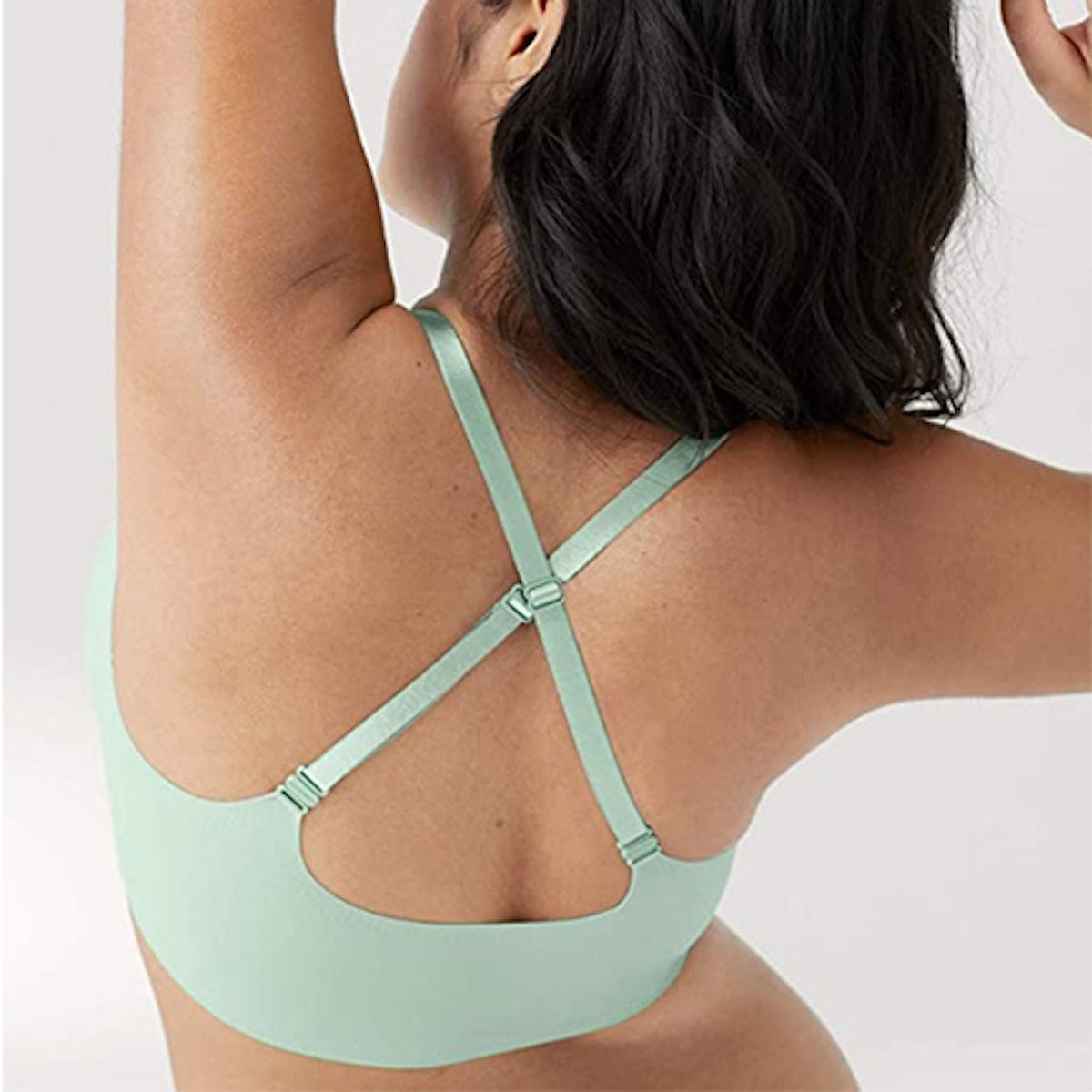 True & Co True Body Triangle Convertible Bra